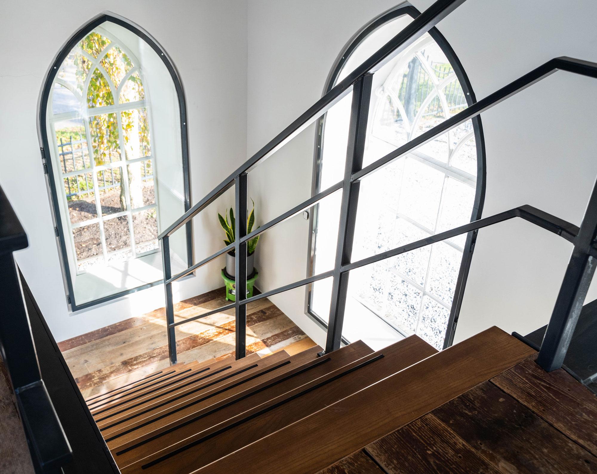 balustrade dijsktra staal zwarte ambachtelijke trap