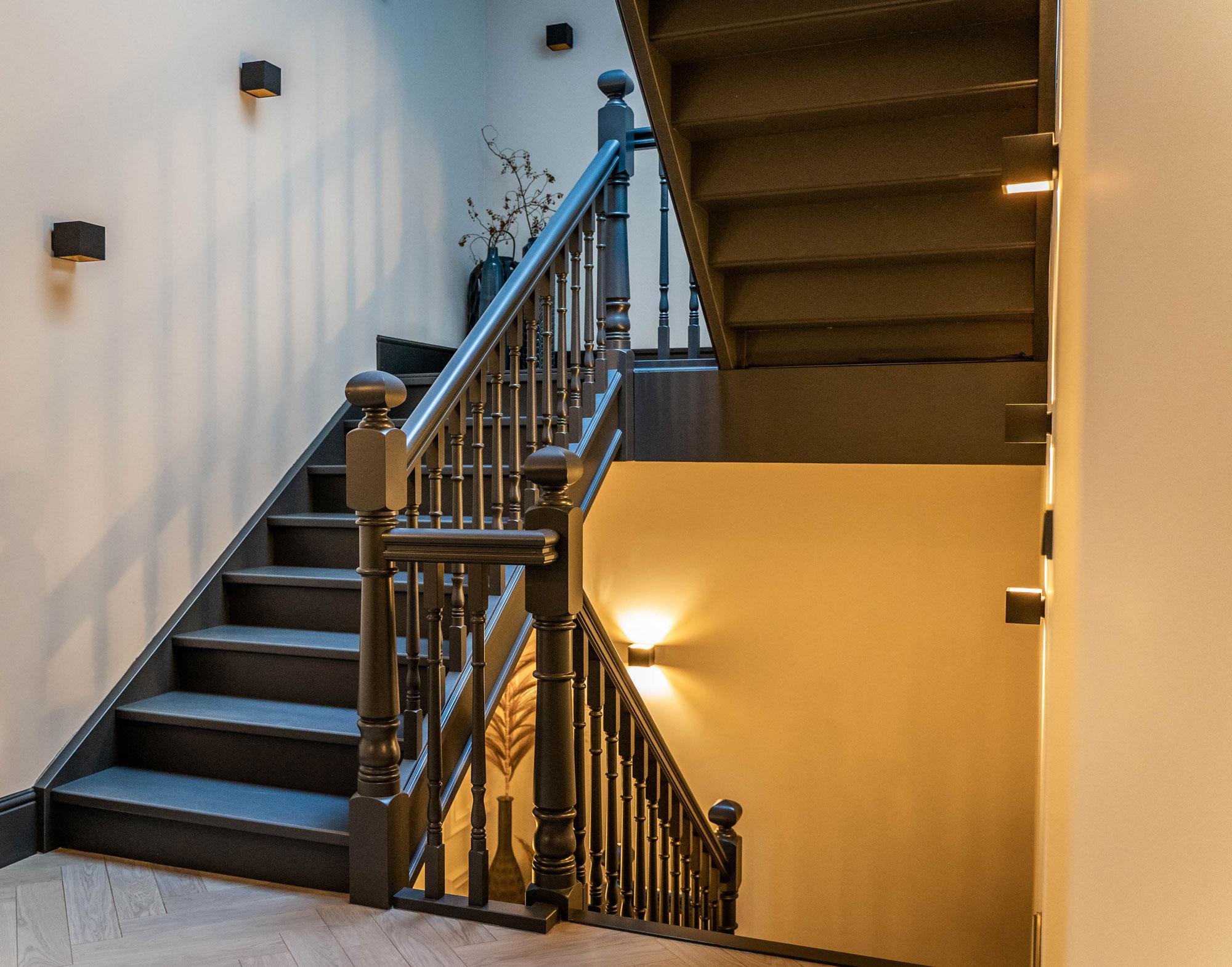 dijkstra trappen zwarte balustrade